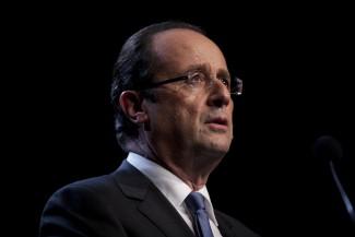 François Hollande, a távozó szocialista elnök