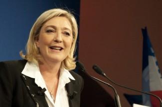 Marine Le Pen - a Nemzeti Front jelöltje